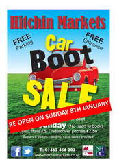 Hitchin Car Boot Sale