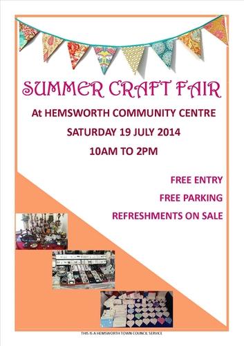 Hemsworth Craft Fair