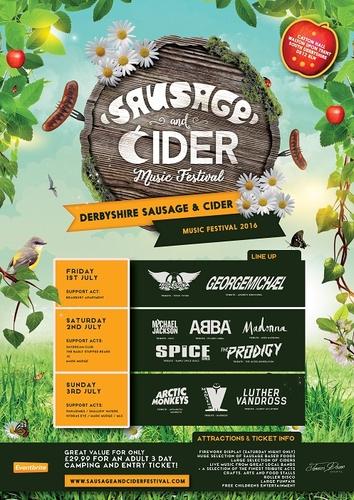 Derbyshire Sausage And Cider Music Festival On 01 07 2016
