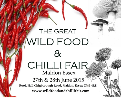 Wild food and chilli fair 27-28th June