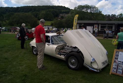 Cromford Meadows Classic Car Show