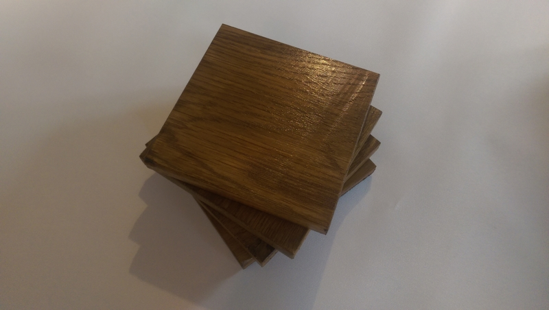how to make wooden coasters for drinks