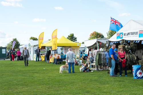Trade Stands Chatsworth Country Fair : East riding country fair driffield showground ref