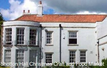 Shotton Hall Christmas Craft And Food Market Events2gogo