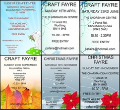 Christmas Craft Fairs In West Sussex