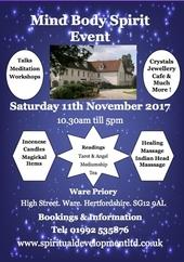 Priory Hitchin Christmas Craft Fair