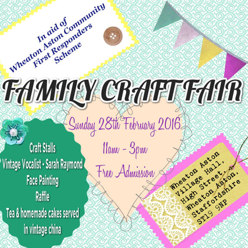 Charity family craft fair donna ref 14808 stall for Crafts to donate to charity