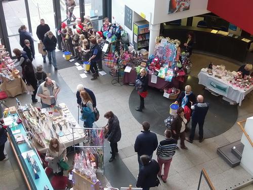 Victoria Hall Christmas Market 2017, Ambassador Theatre ...