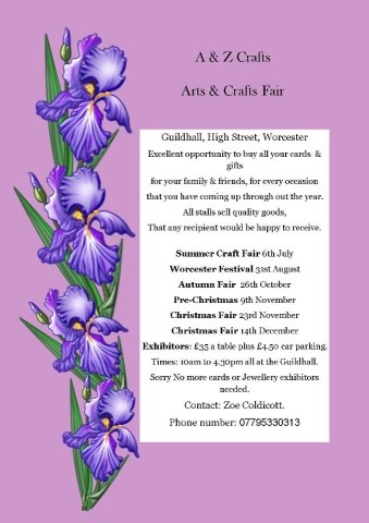 Christmas Craft Fairs Worcestershire