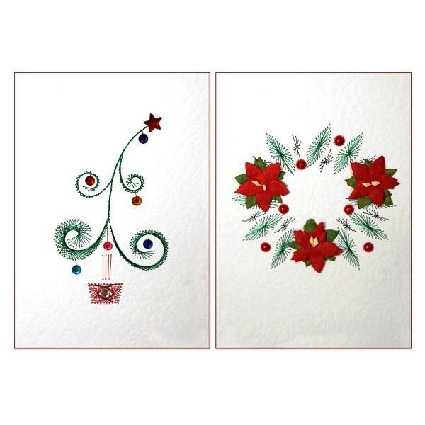 Christmas Tree Card Craft