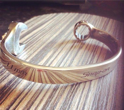 Snap On Spanner Bracelet Custom Made To Fit 5024