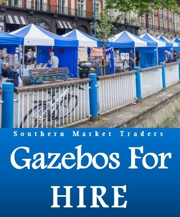 Canopy & Gazebo Sales & Hire In The South Of England - From 10 Gazebos To 110!
