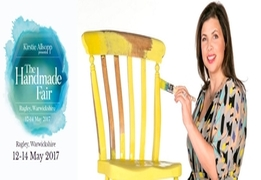 This May, Kirstie Allsopp And Her Team Of Experts Are Taking The Handmade Fair To Warwickshire!
