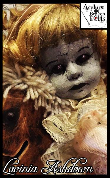 Stallholder Profile - Asylum of Broken Dolls - A Correctional Facility For The Wayward And Weird