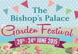 The Bishop's Palace Garden Festival 2015 -With Special Guest Alan Titchmarsh MBE - Somerset