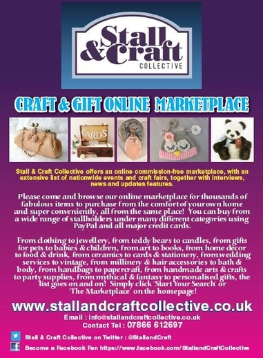 We Are Pleased to Publish Our New Stall & Craft Collective Leaflet  Design