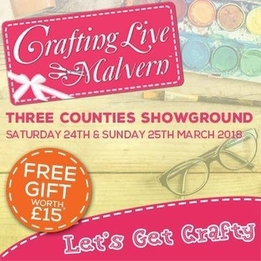 The Award Winning Crafting Live Show Is Coming To Malvern And Bringing A Whole Host Of Celebrity Crafters