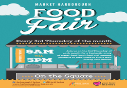Market Harborough Food Fair Launches on 20th April 2017
