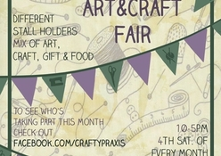 Crafty Praxis -  Art & Craft Fairs in the Byram Arcade -  Huddersfield - West Yorkshire
