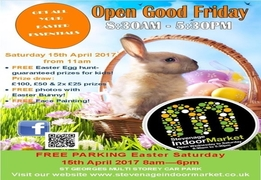 Stevenage Hertfordshire Easter Egg Hunt Saturday 15th April 2017