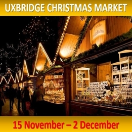 Uxbridge Christmas Market 15th Nov to 2nd Dec - Applications From Stallholders Now Open