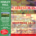 Christmas Fair at Himley Hall Dudley West Midlands 18th/19th November 2017 Organised By Countryside Events
