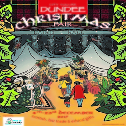 The Dundee Christmas Fair 2017 4th - 23rd December, Dundee City Square