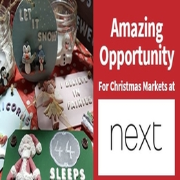 AMAZING OPPORTUNITY for Christmas Markets @ NEXT