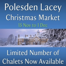 Polesden Lacey 2019 Christmas Market In Surrey.  Be Part Of This Sumptuous Christmas Market.