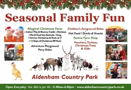 Seasonal Family Fun at Aldenham Country Park - Elstree Hertfordshire