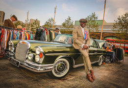 The Classic Car Boot Sale Kings Cross London - 16th & 17th April