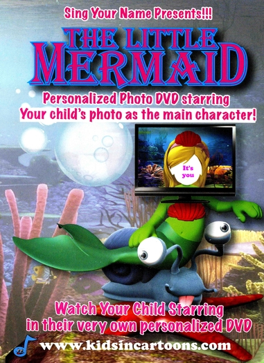 Personalised Full Length Cartoon DVDs, Interactive Storybook CDs And Music CDs  - Kids In Cartoons