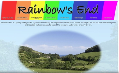 Rainbow's End - Mind Body & Spirit Shows In Devon & Dorset  Plus A School Of Mediumship And Workshops