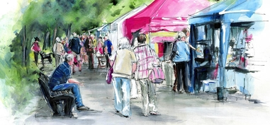 Prom Art - The Largest Open-Air Art And Crafts Fair In Cumbria