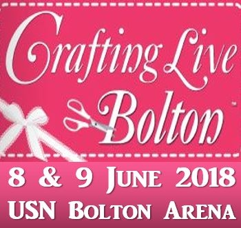 Crafting Live - USN Bolton Arena On Friday 8 And Saturday 9 June 2018 And Open 10am-5pm On Both Days